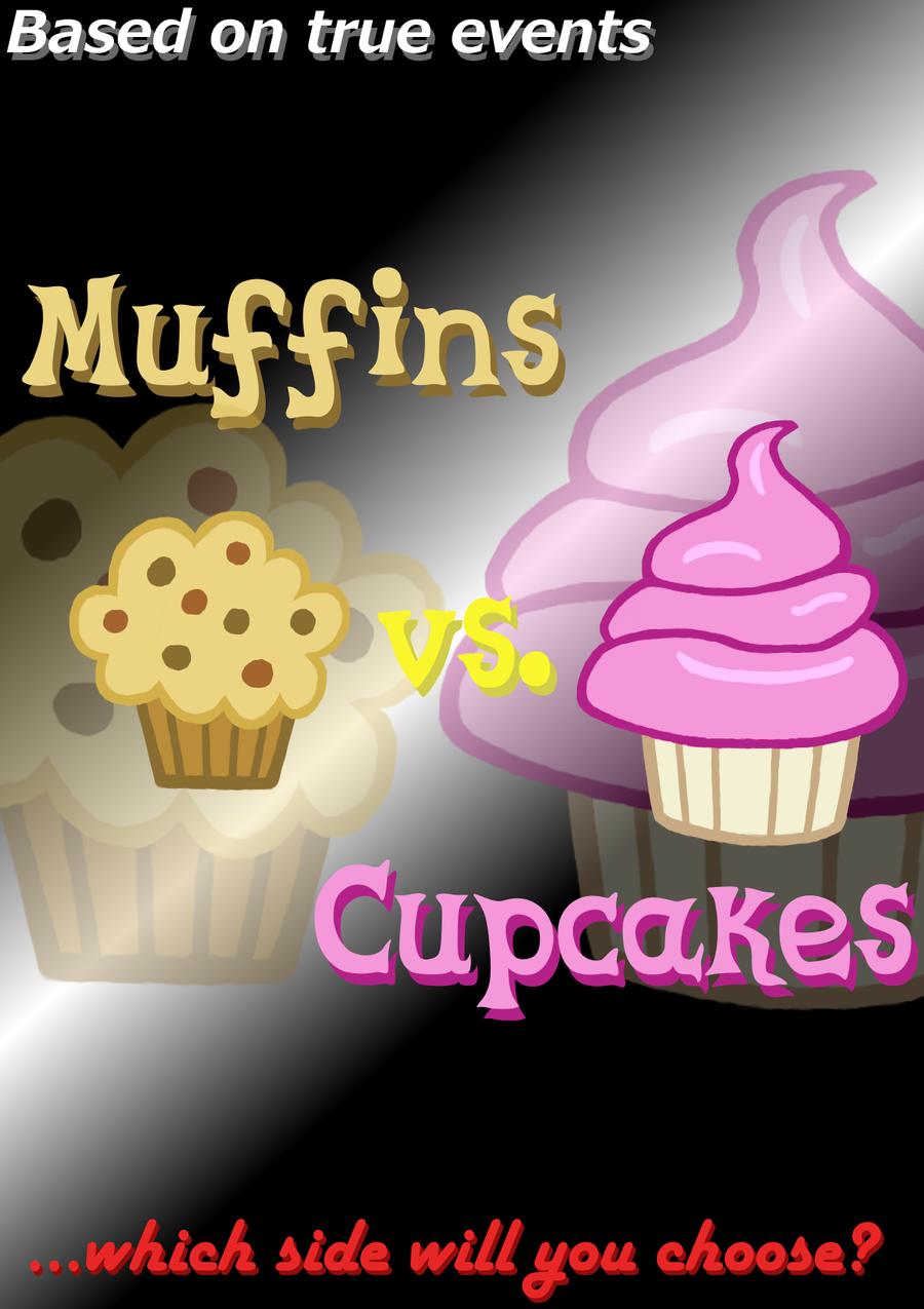 Muffins Vs. Cupcakes [W37] By Legeden On DeviantArt