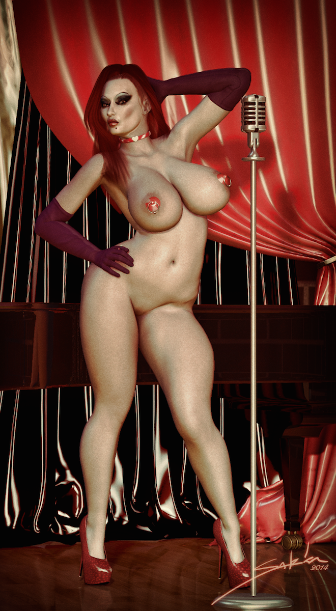 Jessica at the Cabaret by SarkaSex