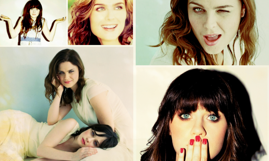 Deschanel Sisters Tumblr Deschanel Sisters by Jaswoosh
