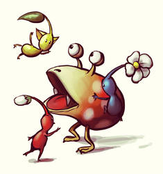 Pikmin by Vogelspinne