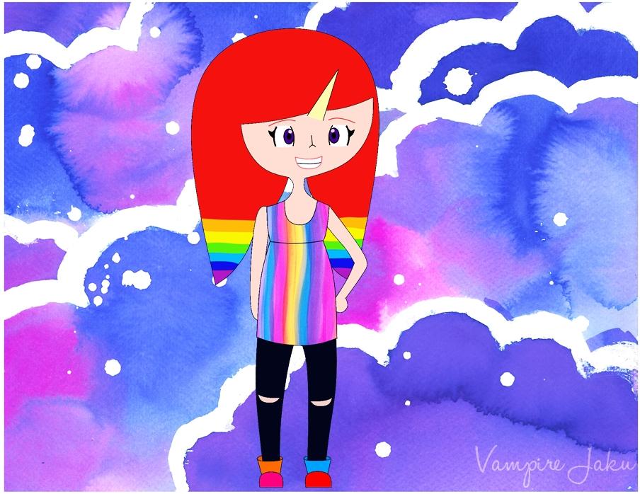 Unicorn girl by gaby38