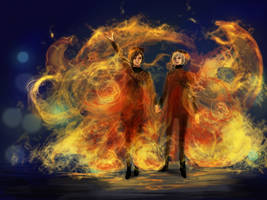 the tributes of district 12 by SchatzIna