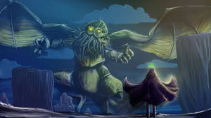Mysterion and Cthulhu by SchatzIna