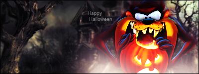 Taz Halloween by StevenCZ