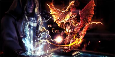 Good vs Evil by StevenCZ