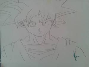 Goku old Drawing