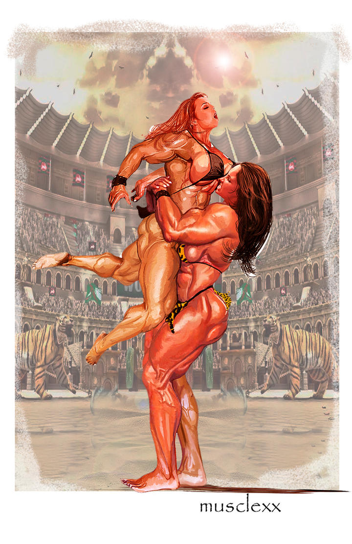 Musclexxgladiadors by sgcaio