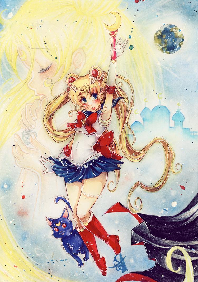 Pretty Guardian Sailor Moon by evaYabai