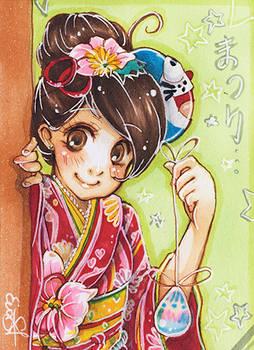 ACEO 002: Matsuri