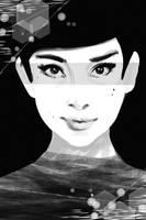 Audrey Hepburn Speedpaint by evaYabai