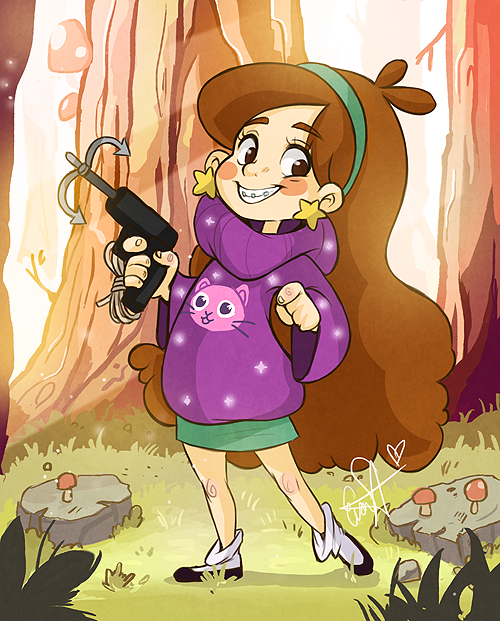 GRAVITY FALLS MABEL by evaYabai