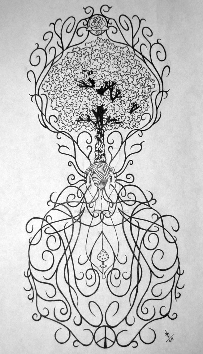 tree of life tattoos. Tree of Life tattoo design by