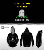 8-Bit Design Challenge - Life is not a Game by mantarosan