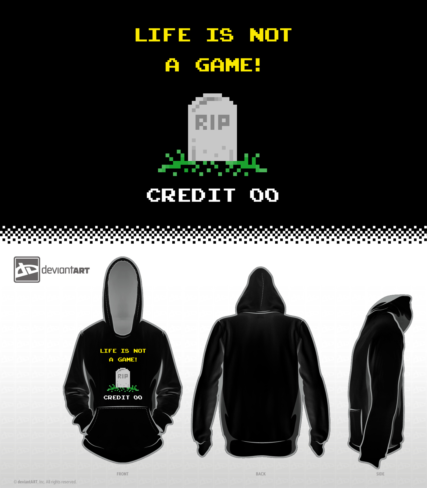 8-Bit Design Challenge - Life is not a Game by mantarosan