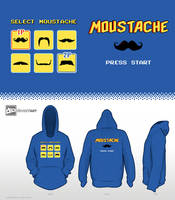 8-Bit Design Challenge - Choose Your Moustache by mantarosan