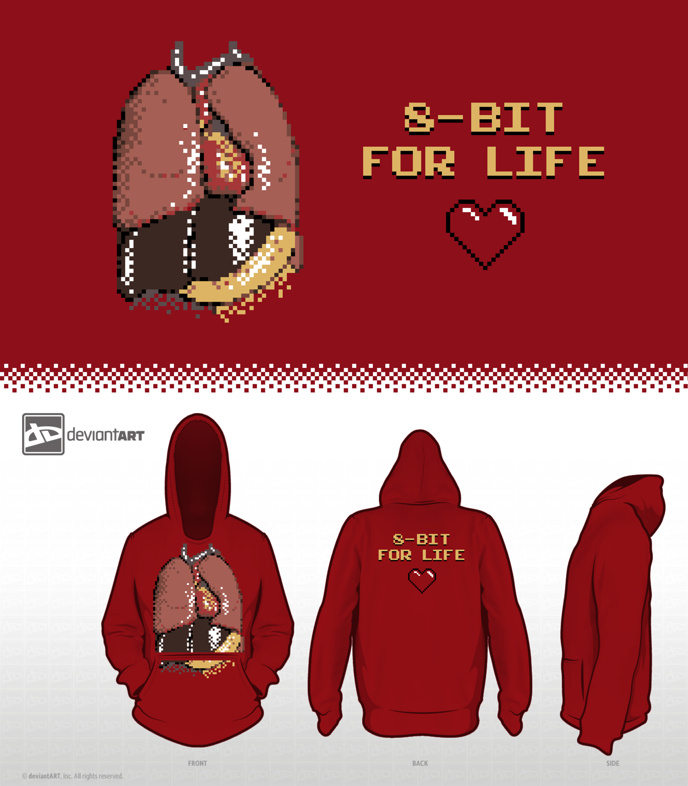 8-Bit Design Challenge - 8-Bit 4 Life by mantarosan