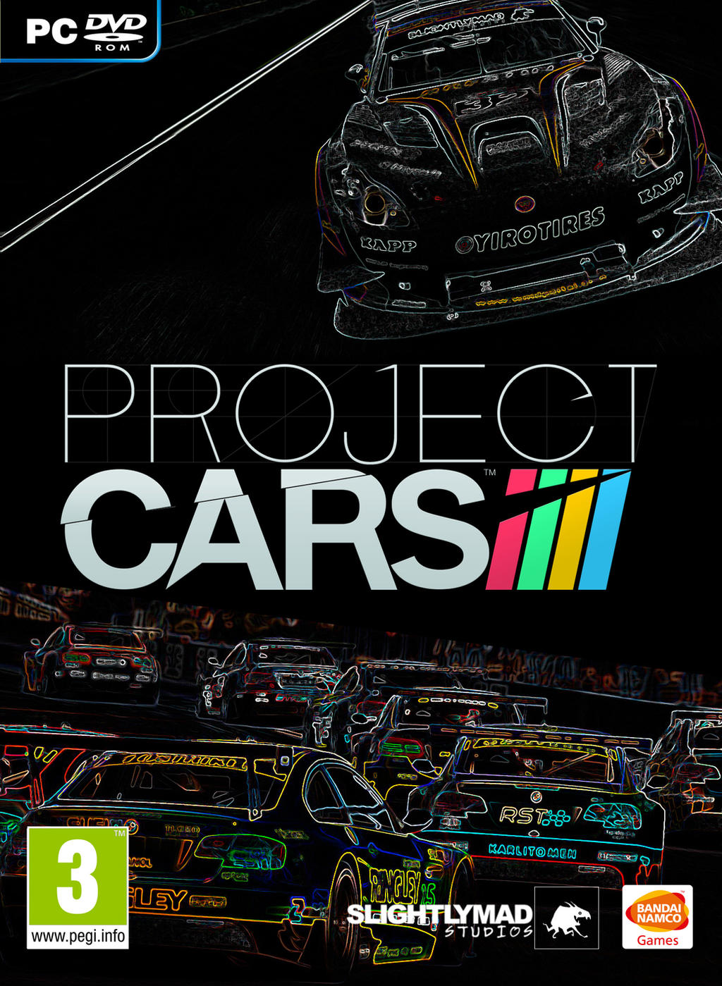 how to change car view in project cars