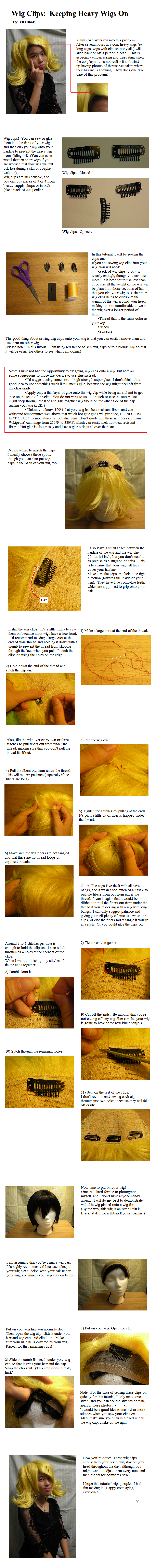 Tutorial: Wig Clips by GingaBishounen