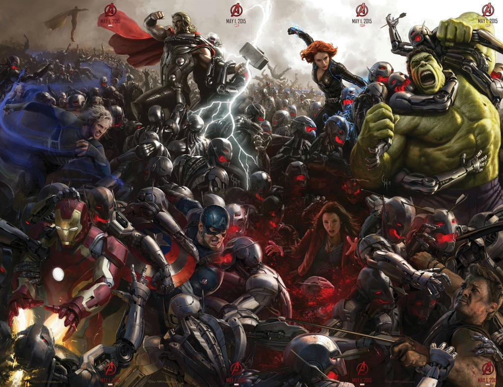 AVENGERS 2: AGE OF ULTRON - SDCC Concept Art by RoxasXIIIK