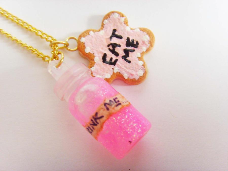 Eat Me Drink Me Necklaces