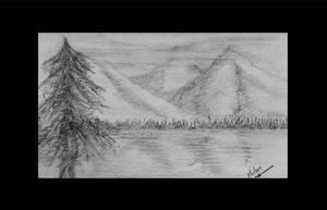 Mountain Lake by dslmwgraves