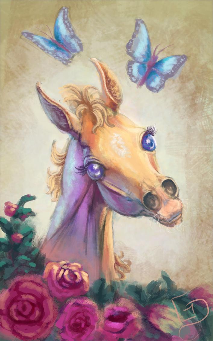 Sweet Filly of Cuteness by Dalgeor
