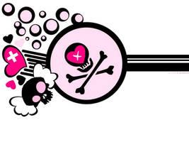 .skull.love.pink.