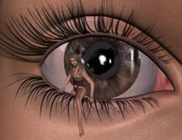 In Your Eye by BrokenWings3D