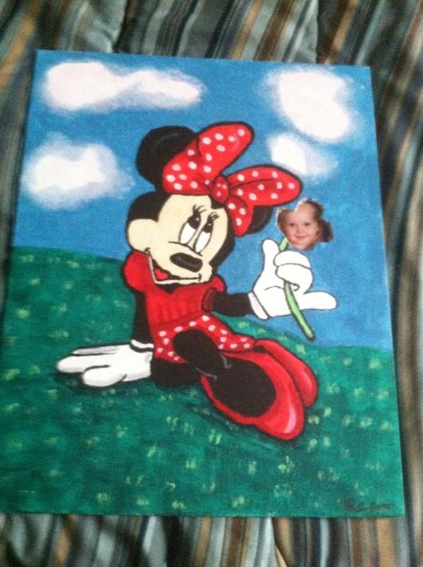 Minnie by BrokenWings3D