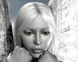 Tears of An Angel2 by BrokenWings3D