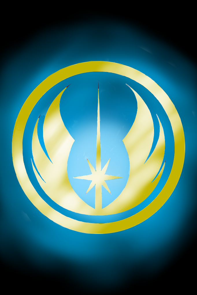 Jedi Order symbol in blue and gold by JaxPavan-15 on ...
