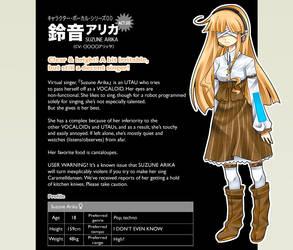 Suzune Arika by AnimeKittyCafe