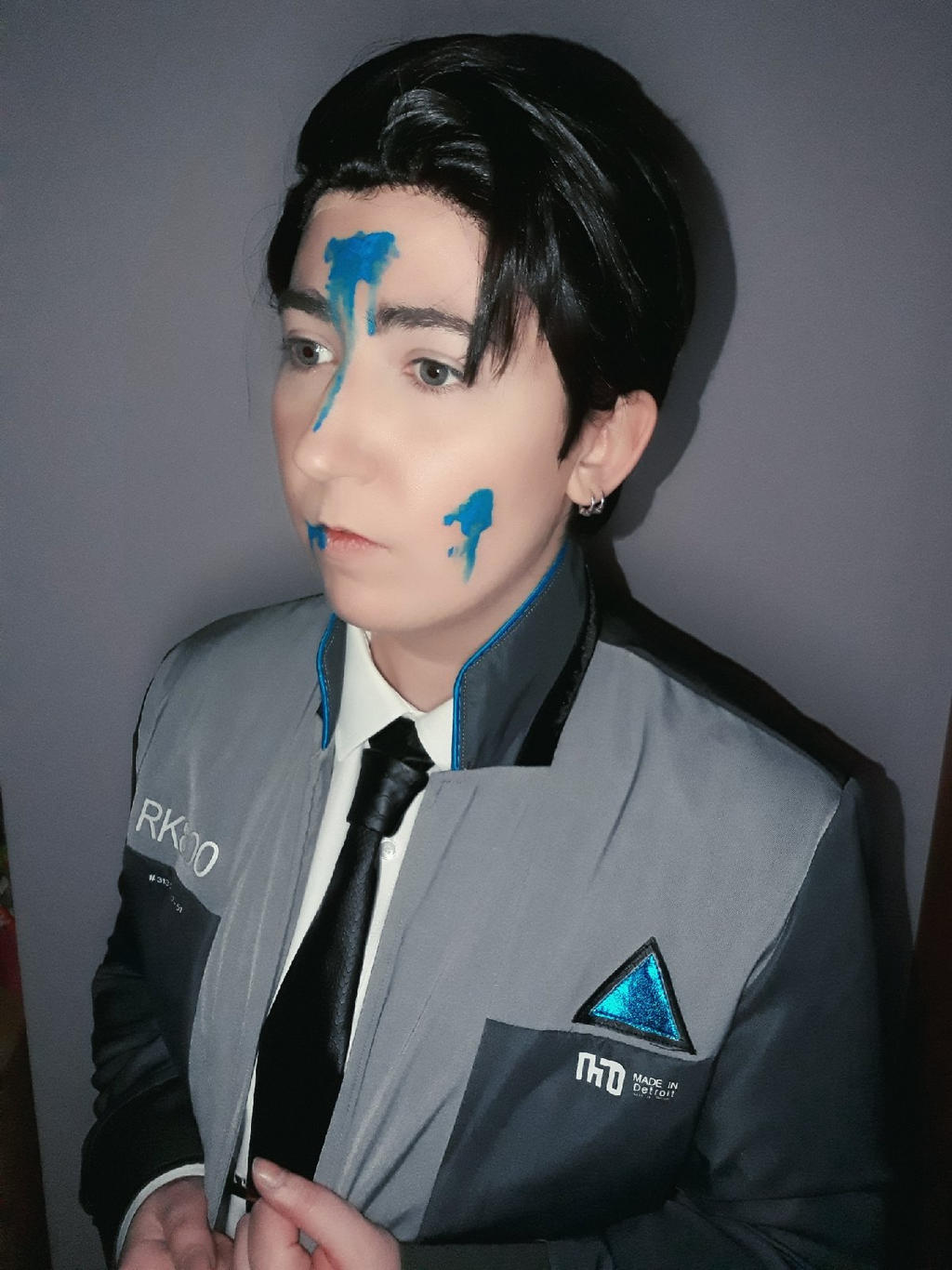 Detroit Become Human Connor Cosplay By Sandymisaki On Deviantart