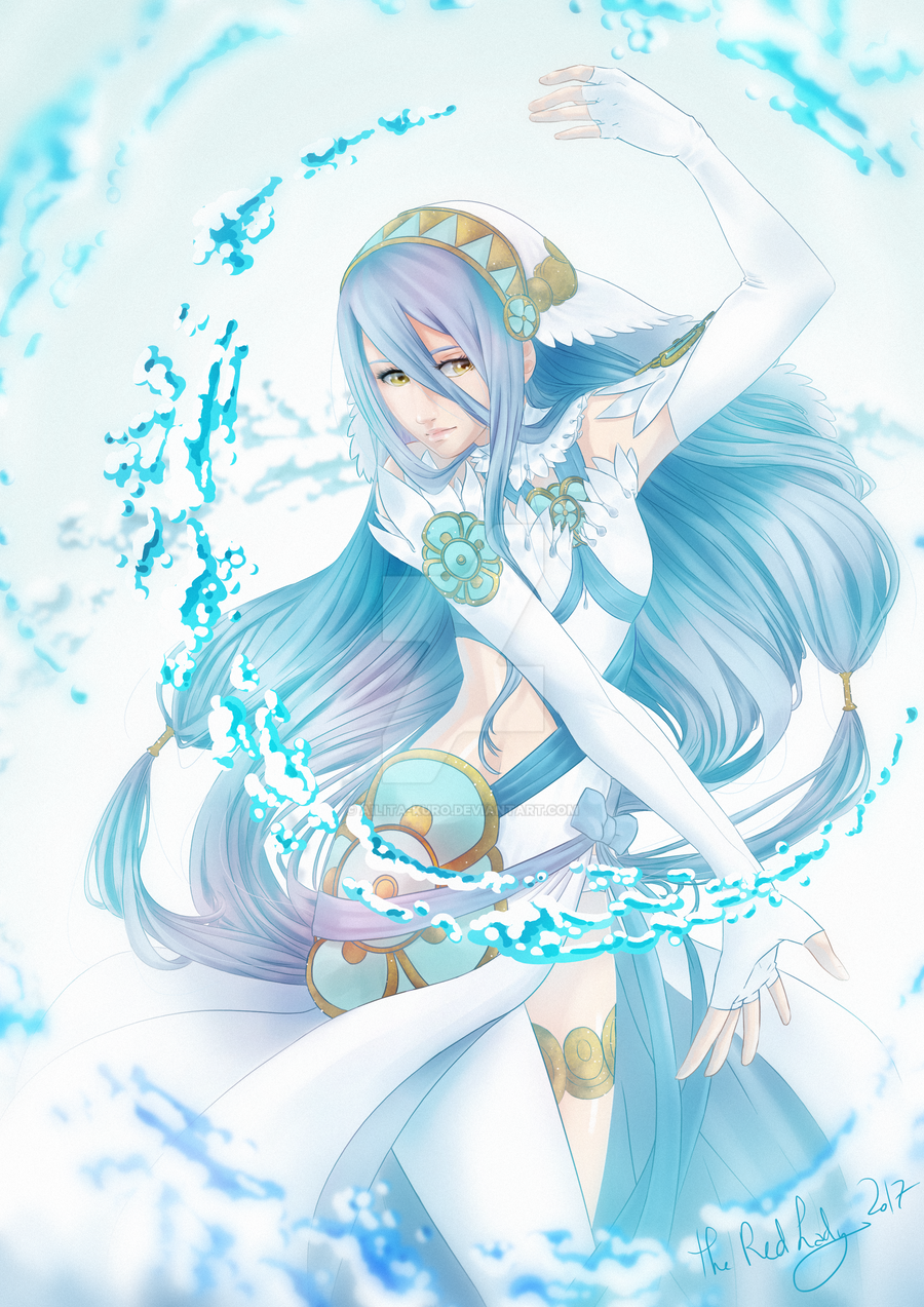 Azura Fire Emblem Fates By Ailita Kuro On Deviantart