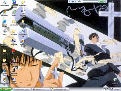 another wolfwood background