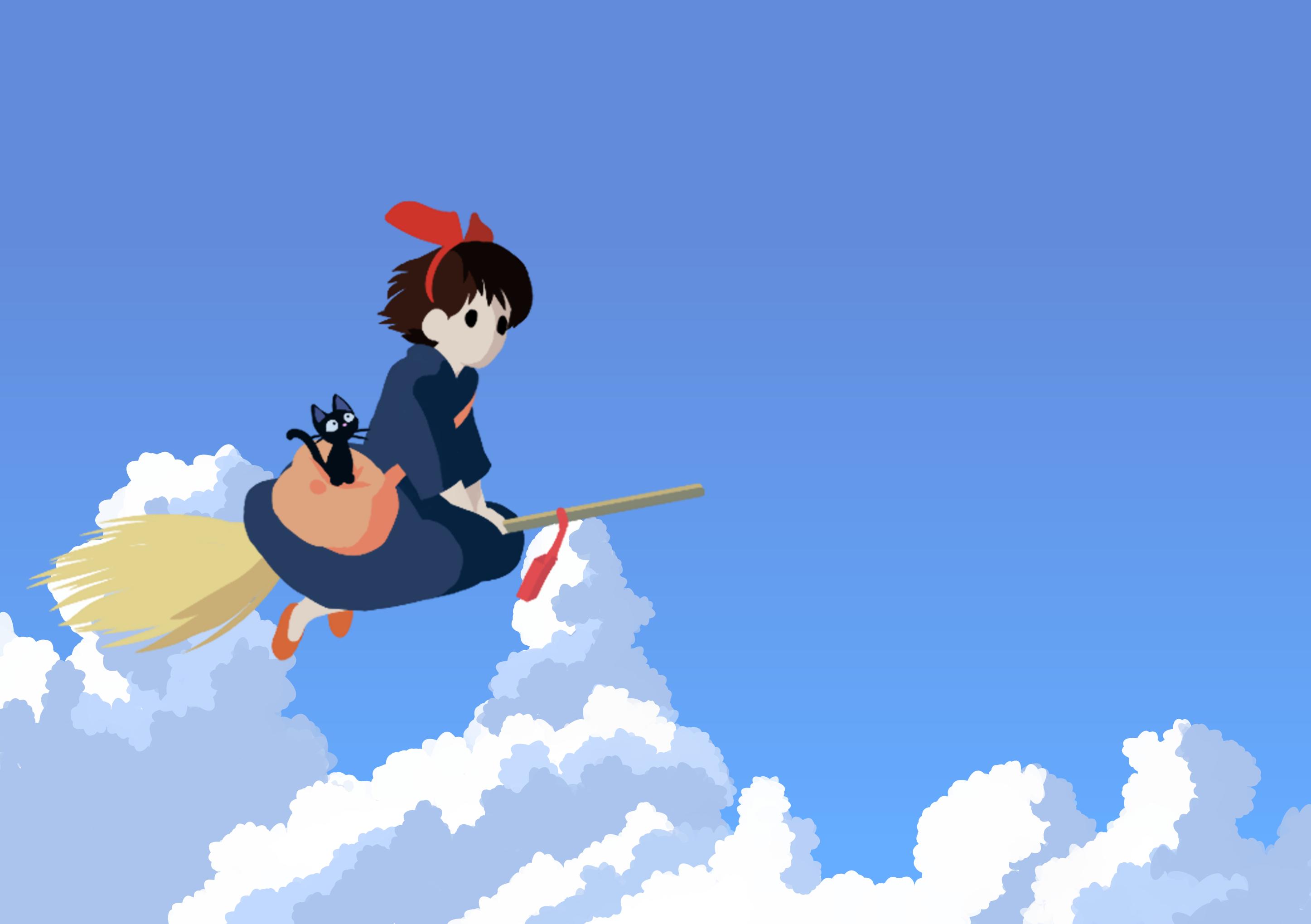 Ghibli Wallpaper Kiki S Delivery Service By Fandidit On Deviantart