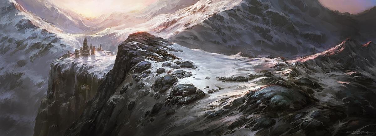 Snow Mountain 2.0 by bluerainCZ