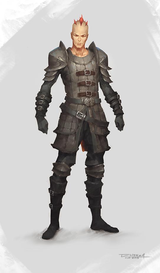 Skyrim Dawn guard by bluerainCZ