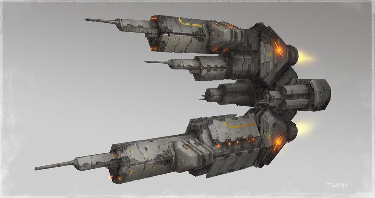 Main Battleship by bluerainCZ