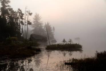 Early Morning Fog 092511 by GreyVolk