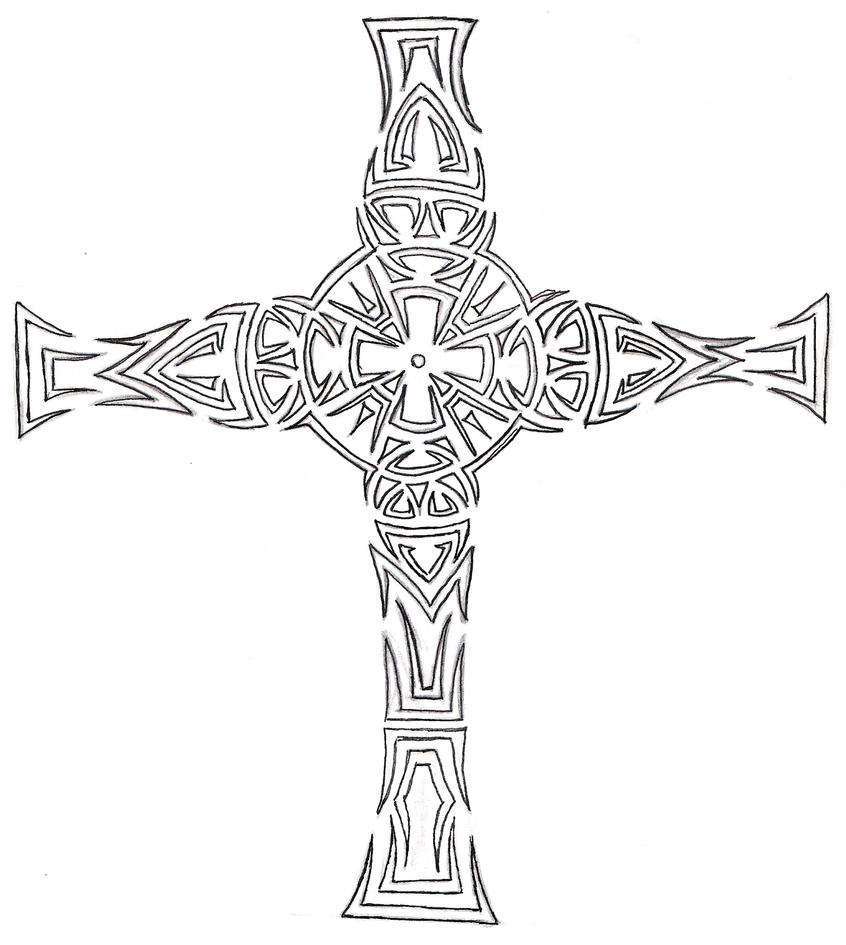 cross tattoo designs