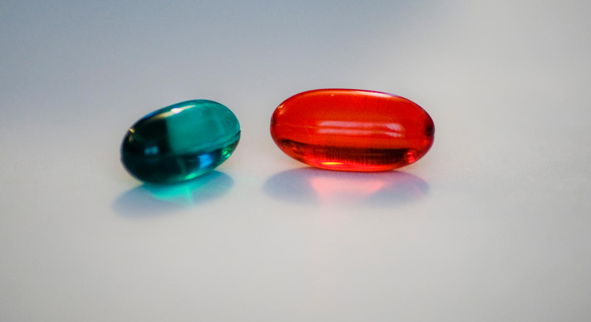 Red Pill or Blue Pill by ambrotos