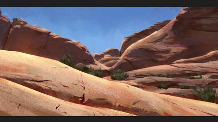 Landscape study by kristmiha