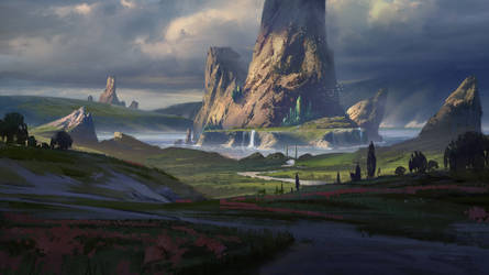 Emerald City by kristmiha