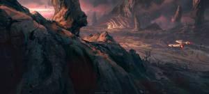 Altair V planet by kristmiha