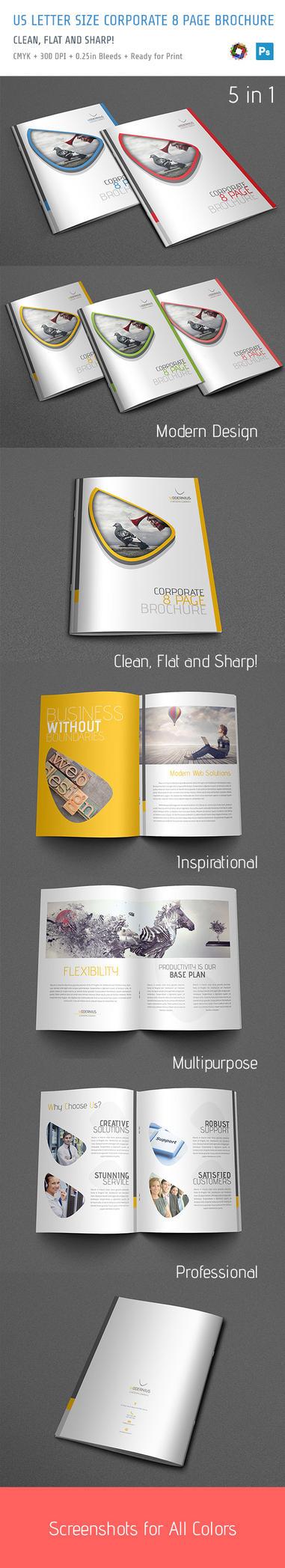 Modern Brochure by bakirci