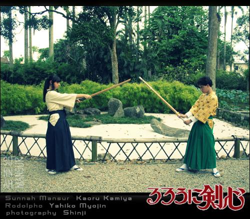 Kaoru Kamiya and Tenchuu III by darktenabre