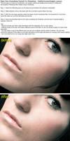 Basic Pore Smoothing Tutorial by KissMyHuman