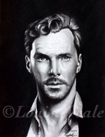 Benedict Cumberbatch by Louise-Veale