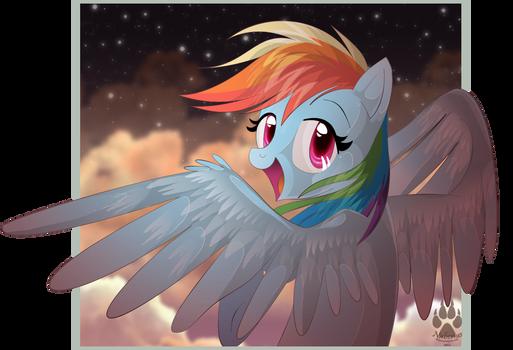 Animu Rainbow Dash